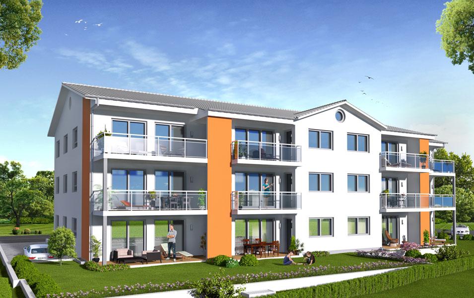 Immobilien - Wohnbau Ackermann Wohnungen Wagenstadt
