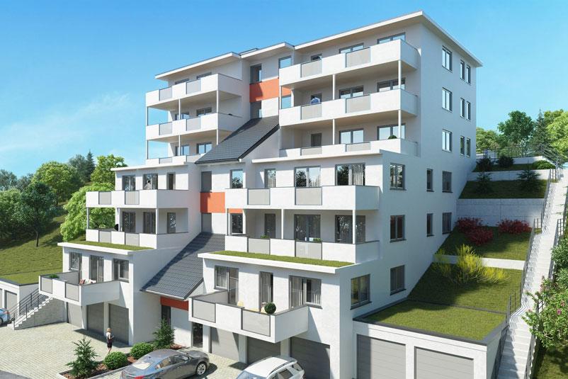Immobilien - Wohnbau Ackermann Wohnungen Herbolzheim