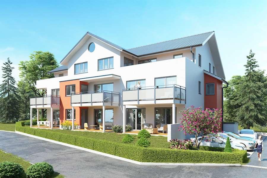 Immobilien - Wohnbau Ackermann Eigentumswohnungen in Mönchweiler